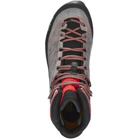 Salewa MTN Trainer Mid GTX Shoes Men Charcoal/Papavero